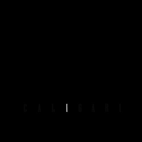 Logosímbolo del Grupo de Investigación en Sonido, Imagen y Escritura Audiovisual Caligari de la Escuela de Comunicación Social - Facultad de Artes Integradas - Universidad del Valle
