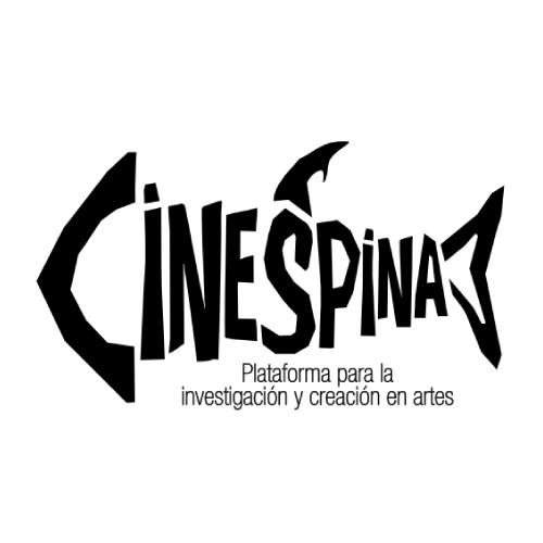 Logosímbolo de la Plataforma para la investigación y creación en artes Cinespina