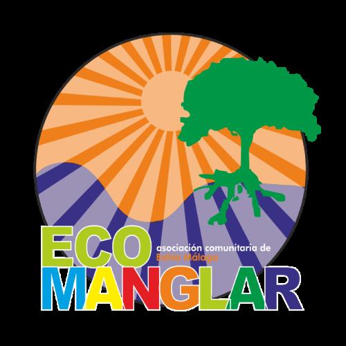 Logosímbolo de la Asociación Comunitaria de Bahía Málaga EcoManglar
