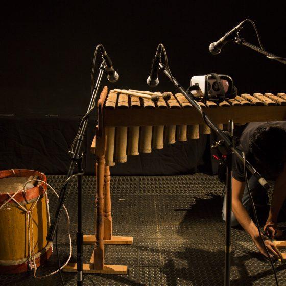 Fotografía de los Instrumentos del Concierto Telemático Amanecer Pacífico