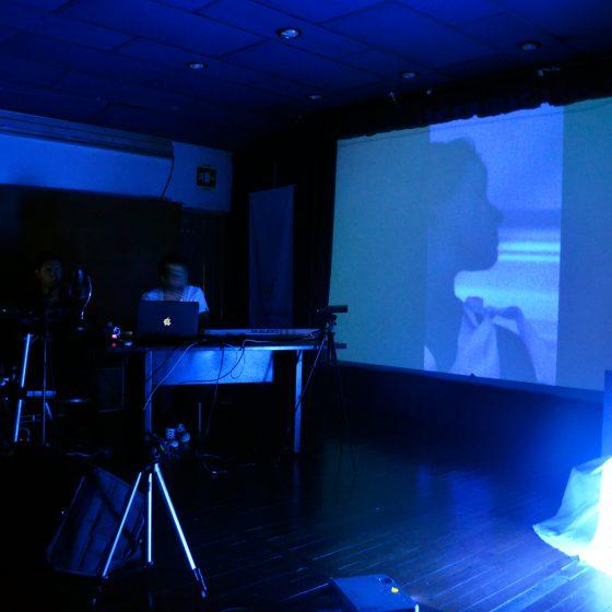 Fotografía del encuentro de artes electrónicas Videosonica 2013