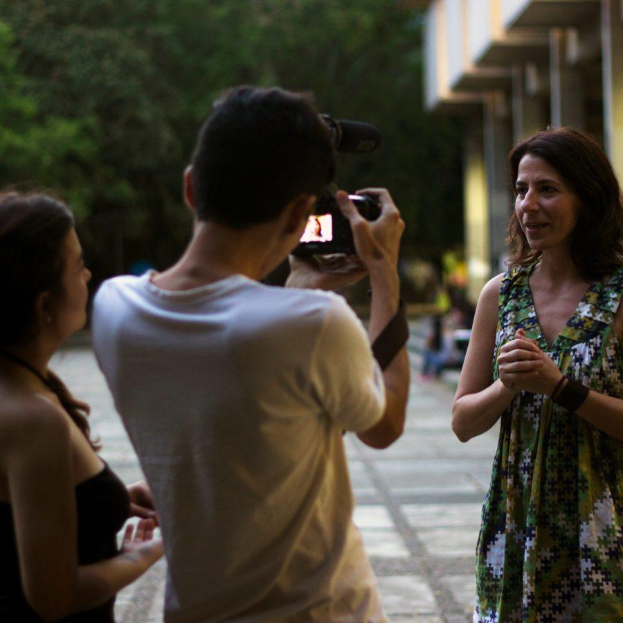 Fotografía del Encuentro Académico en el Encuentro de Artes Electrónicas Videosonica 2015