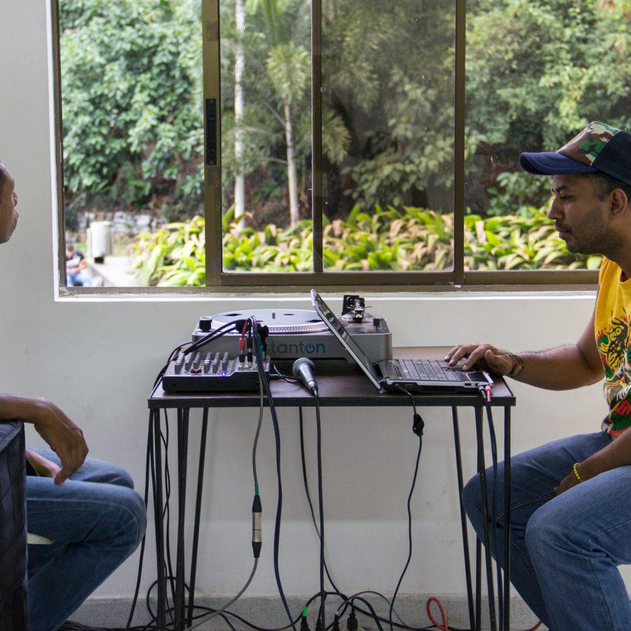 Fotografía del Encuentro de Artes Electrónicas Videosonica 2015