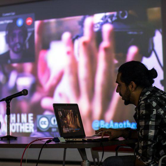 Fotografía del Encuentro de Artes Electrónicas Videosonica 2016