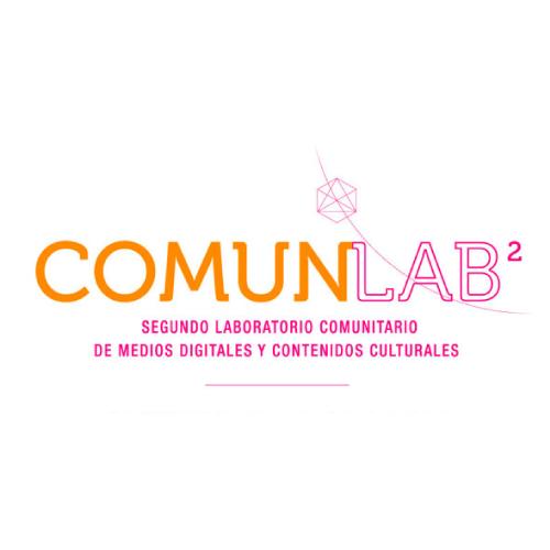 Logosímbolo del Segundo Laboratorio Comunitario de Medios Digitales y Contenidos Culturales ComunLab2
