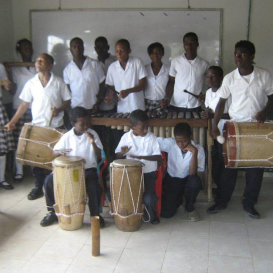 Fotografía del Taller Escuela Primaria Musical