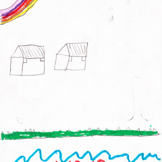 Ilustración del Taller de Ilustración en la Isla de la Plata en Bahía Málaga 2016